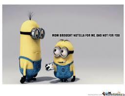 Minion Meme Generator - minion nutella by zxealot meme center