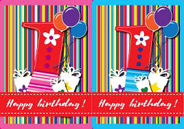 happy birthday card free vector art 12439 free downloads