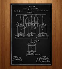 vintage cocktail posters beer brewing patent art print art prints u0026 posters patent