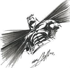 neal adams batman sketch in lee p u0027s batman comic art gallery room