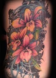 100 pretty orchid tattoos and meanings 2017 collection