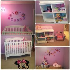 baby nursery decor five point of view from baby minnie mouse