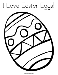 simple easter coloring pages i love easter eggs coloring page twisty noodle