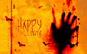 facebook halloween background happy halloween scarry orange