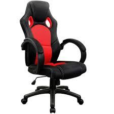 fauteuil baquet bureau chaise de bureau sport fauteuil siege baquet et noir