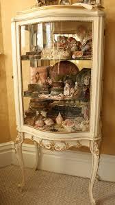 Howard Miller Grandfather Clock Value Curio Cabinet 680503 Howard Miller Collectible Cherry Corner