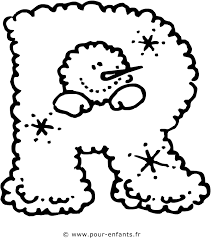 les lettres de l u0027alphabet la lettre r dessin à imprimer pour