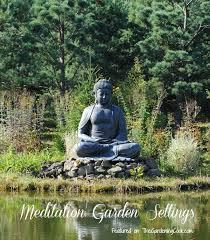 Meditation Garden Ideas Meditiation Garden Settings The Gardening Cook