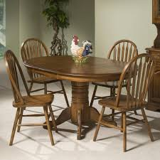 Cheap 5 Piece Dining Room Sets Intercon Classic Oak Solid Oak Table U0026 4 Chairs Old Brick
