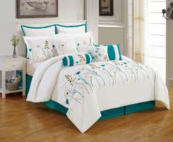 teal comforter sets make your bedroom in comfortable itsbodega