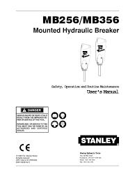 stanley mb256 356 user 30341 6 99 v3 piston valve