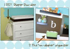 Diaper Organizer For Changing Table Diaper Organization