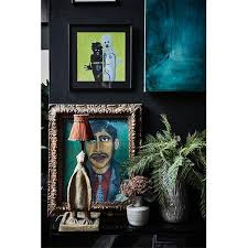 Black Interior Paint Transform Your Home With Our Powerful Hudson Black Abigail Ahern