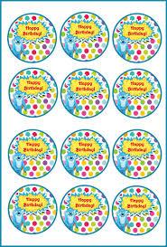 yo gabba gabba u2013 cupcake toppers u2013 birthday printable