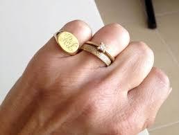 Monogram Rings Silver Kaia Joyas Anillos Pinky Anillos Pinterest Ring Jewel And