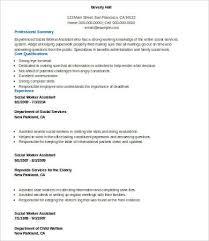 social worker resume template 10 social work resume templates pdf doc free premium templates