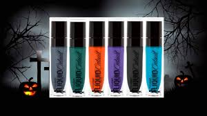 wet n wild halloween wet n wild le halloween megalast catsuit liquid lipstick swatches