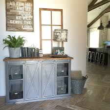 Black Hutch Buffet With Wood Top Diy Buffet Cabinets For The Dining Room Sliding Door Furniture