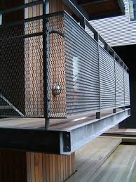 expanded metal balcony railings u0026 security mesh rails