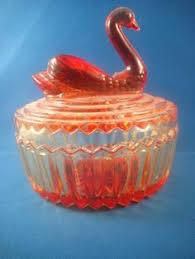 antique svan ring holder images 43 best depression glass powder dish images powder jpg