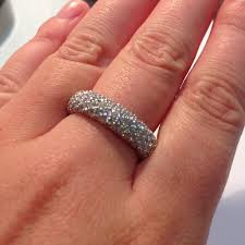 eternity ring finger introducing our new expandable pave set eternity ring