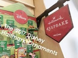 introducing the 2017 disney hallmark ornaments