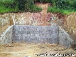 Favorito Projeto de Muro de Arrimo » tipos, cálculo e custos #FK55