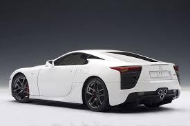 lexus lfa uk for sale autoart signature 1 18 lexus lfa whitest white amazon co uk