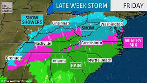 new york and washington dc weather to see snow this weekend