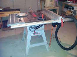 Ridgid Table Saw Extension Rigid Table Saw Woodworking Talk Woodworkers Forum