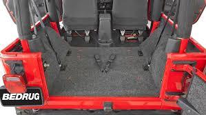 Bed Rug Liner Bedrug Jeep Cargo Liners Bedrug