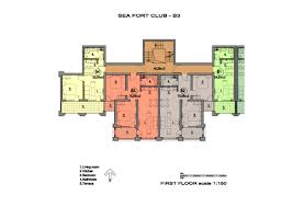 Digital Floor Plan by Fort Noks Grand Resort U2013 Sea Crown Imperial U2013 Floor Plans