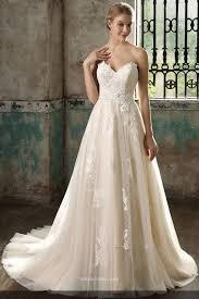 detachable wedding dress straps pretty lace appliqued princess a line bridal gown