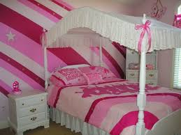 Bedroom Ideas With Platform Beds Bedroom Bedroom Cheerful Pink Stripe Accent Wall Design Ideas