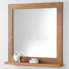wood bathroom mirror signature hardware