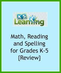 k5 learning for math u0026 reading review happy little homemaker