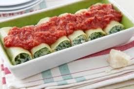 cuisine epinard recette de cannelloni à la ricotta et aux épinards coulis de