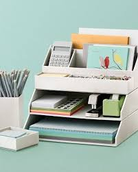 Desk Organizer Ideas Stackable Desk Accessories Creative Home Office Organizing Ideas