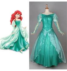 mermaid halloween costume for adults disney little mermaid ariel princess pink dress party costume cosplay