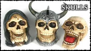 skull ornaments gifts