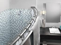Large Shower Curtain Rings Amazon Com Moen Sr2201ch Shower Ring Chrome Home Improvement
