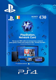 ps4 gift card 30 playstation network wallet top up gamestop