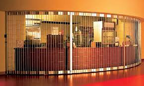 Overhead Door Anchorage Security Grilles For Alaska Commercial Buildings And Facilities