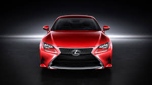 lexus to launch rc 350 coupe in luminous red 95 octane