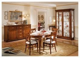 sala da pranzo classica sala da pranzo classica in legno massello colore noce vetrina it