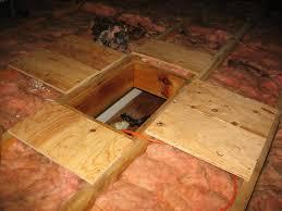 installing attic insulation mike u0027s tech blog