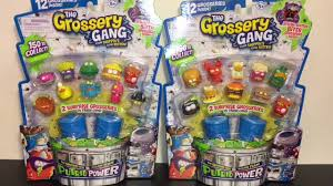 grossery gang series 3 putrid power trash 12 packs toy opening