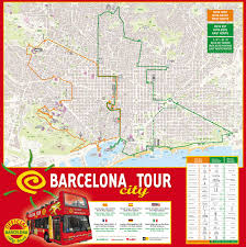 San Francisco Big Bus Tour Map hop on hop off barcelona city tour and boat trip along the coast