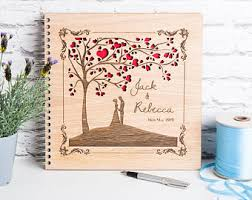 guestbooks for weddings wedding guest books etsy