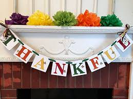 thanksgiving decorations thanksgiving banner fall